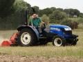 Siega tractor New Holland